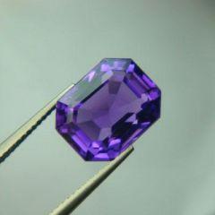 Amethyst Gemstones - Top Aaaaa Grade 8.65cts Natural Amethyst/katela