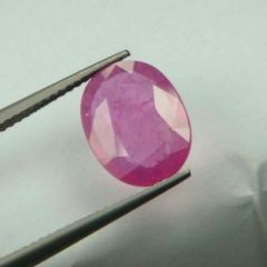 Top Grade 4.74ct Lab Certified Natural Ruby/manek