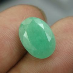 Lab Certified 4.95Cts Natural Untreated Emerald/Panna