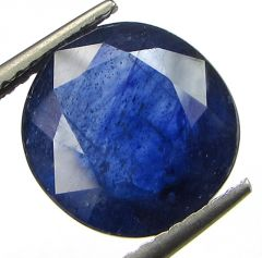 Lab Certified 6.09cts Transparent Natural Blue Sapphire/neelam(for Shani)