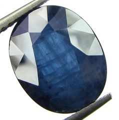 Top 5.10 Ct Certified Natural Blue Sapphire/neelam