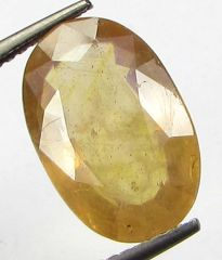 Lab Certified 5.63cts Natural Yellow Sapphire/pukhraj