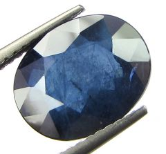 Top 4.84 Ct Certified Natural Blue Sapphire/neelam