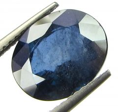Top 4.62 Ct Certified Natural Blue Sapphire/neelam