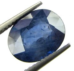 Top 4.57 Ct Certified Natural Blue Sapphire/neelam
