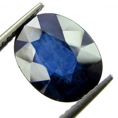 Top 4.31 Ct Certified Natural Blue Sapphire/neelam