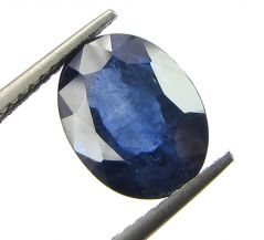 Top 3.62 Ct Certified Natural Blue Sapphire/neelam