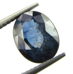 Top 3.54 Ct Certified Natural Blue Sapphire/neelam