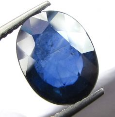 TOP 4.44 Ct CERTIFIED NATURAL BLUE SAPPHIRE/NEELAM