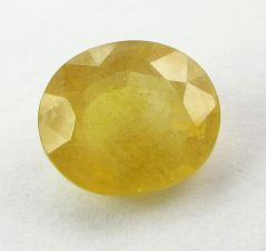 Lab Certified 5.02Cts Natural Yellow Sapphire/Pukhraj(Code - YS467)