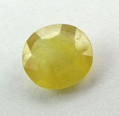 Lab Certified 5.48Cts Natural Yellow Sapphire/Pukhraj(Code - YS460)