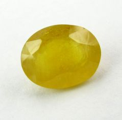 Lab Certified 5.39Cts Natural Yellow Sapphire/Pukhraj(Code - YS458)