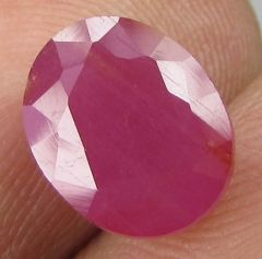 Top Grade 3.69ct Certified Unheated Natural Ruby/manak
