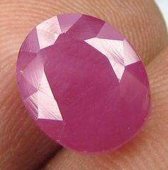 Top Grade 3.68ct Certified Unheated Natural Ruby/manak
