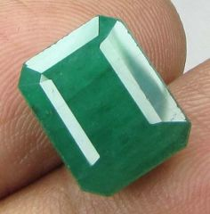 Lab Certified Top 5.98cts 100% Natural Emerald/panna
