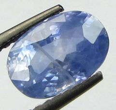 CERTIFIED TOP GRADE 2.36Cts Natural Untreated Ceylon Blue Sapphire/Neelam