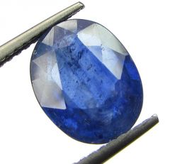 Lab Certified 4.19cts Transparent Natural Blue Sapphire/neelam(for Shani)