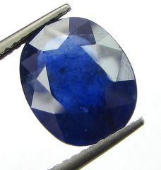 lab Certified 5.79cts Natural Blue Sapphire/neelam(for Shani/Saturn)