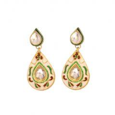 Vendee Fashion Indian Designer Earrings Jewelry 7093
