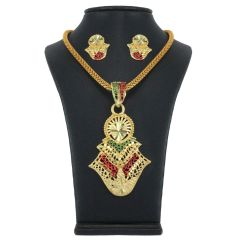 Vendee Fashion Exclusive Pendant Set - 7737