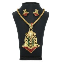 Vendee Fashion Arrow Pendant Set - 7738