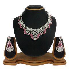 Vendee Fashion Wedding Necklace Set - 7789
