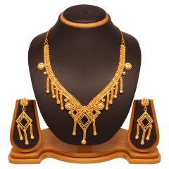 Vendee Fashion Dangler Necklace Set (8037)
