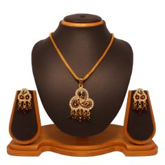 Vendee Fashion Elegant Pendant Set 8056