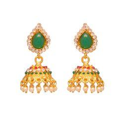 Vendee Fashion Traditional Jhumki earrings 8067(B)