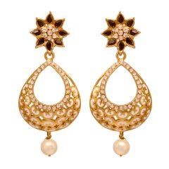 Vendee Beads fashion copper earrings  (8072 A)