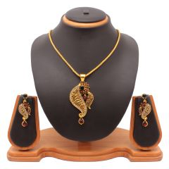 Shop or Gift Vendee Fashion Awesome Pendant Set 8129 Online.