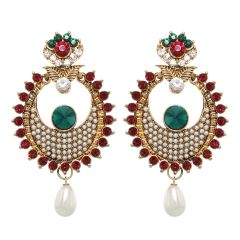 Vendee Fashion Chandelier Earrings (8377)