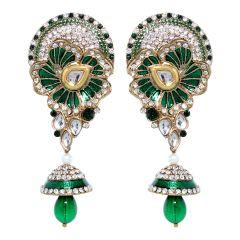 Vendee Fashion Leafy Style Earrings (8391)