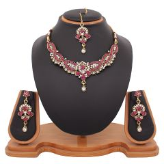 Shop or Gift Vendee Fashion Bridal Necklace jewelry 8433 Online.