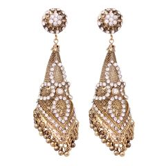 Vendee Fashion Designer Drop Jhumkas earring 8455