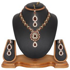 Vendee Fashion Women's Clothing - Vendee Fashion Handcrafted Necklace Set (8468)