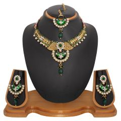 Nose Rings (Imitation) - Vendee Fashion Latest Indian Jewellery Necklace Set (8479)