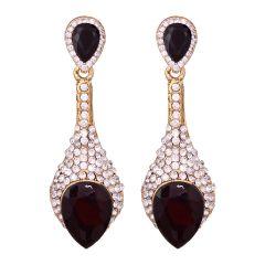 Sparkiling Diamond Dangler/Drop  Alloy  Earrings for Women 8653A