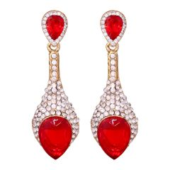 Sparkiling Diamond Dangler/Drop  Alloy  Earrings for Women 8653B