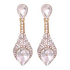 Sparkiling Diamond Dangler/Drop  Alloy  Earrings for Women 8653C