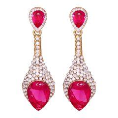 Vendee Sparkiling Diamond Dangler/Drop  Alloy  Earrings for Women 8653E