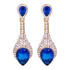 Vendee Sparkiling Diamond Dangler/Drop  Alloy  Earrings for Women 8653F