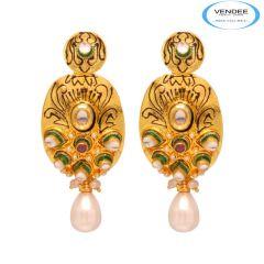 Vendee Copper Fashion Earrings 7897