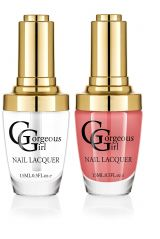 Glossy Nail Lacquer Pack of 2 - By Gorgeous Girl (Code -NP01-16)