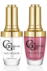Glossy Nail Lacquer Pack of 2 - By Gorgeous Girl (Code -NP01-26)