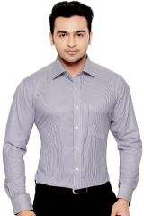 EURO MENS FORMAL OFFICE WEAR SHIRT GREY By Corporate Club (Code - Euro 02)
