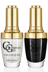 Glossy Nail Lacquer Pack of 2 By Gorgeous Girl(Code -NP -02 -19)