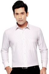 ORCHID MENS FORMAL OFFICE WEAR SHIRT ORANGE(Line) By Corporate Club (Code - Orchid 03)