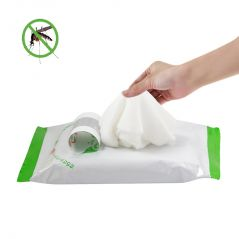 Mosquito Repellent Wet Wipes/Tissues by Wakodo (20 Pcs Pack) - Made in Japan