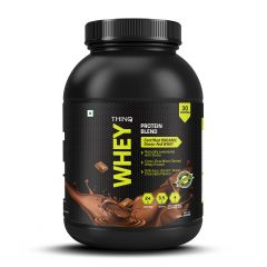 THINQ Whey Protein Blend Chocolate Flavour - 908gms (30 Servings) (Code - I000869)